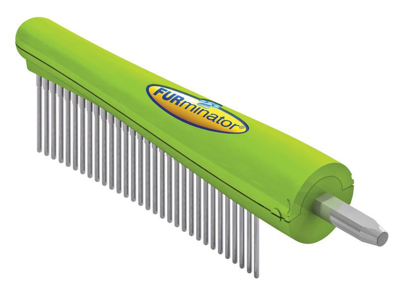 FURMINATOR Furflex Grzebień Główka - do wykończenia fryzury dla psów