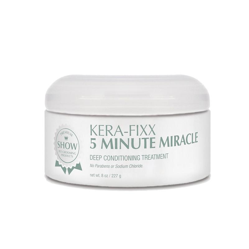 SHOW PREMIUM Kera-Fixx 5 Minute Miracle Mask - intensywnie nawilżająca, odżywcza i wygładzająca maseczka z keratyną, do szaty przesuszonej 236 ml