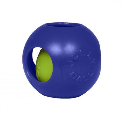 JOLLY PETS Piłka w piłce - zabawka dla psa w kolorze niebieskim
