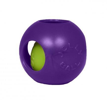 JOLLY PETS Piłka w piłce - zabawka dla psa w kolorze fioletowym