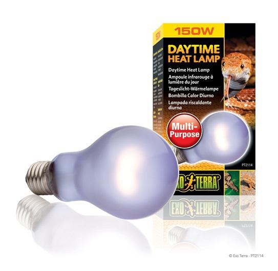 EXO TERRA Daytime Heat Lamp A21 - Dzienna żarówka do terrariów