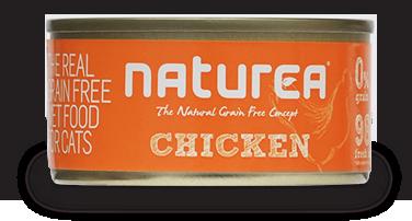 NATUREA Grainfree Kurczak - bezzbożowa mokra karma dla kotów 80 g