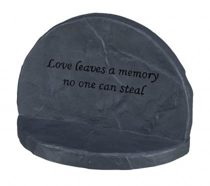 TRIXIE Kamień pamiątkowy Love w kolorze szarym