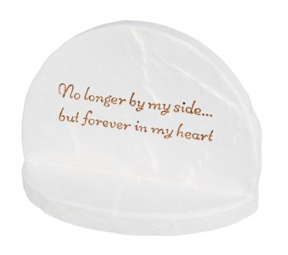 TRIXIE Kamień pamiątkowy Forever w kolorze białym