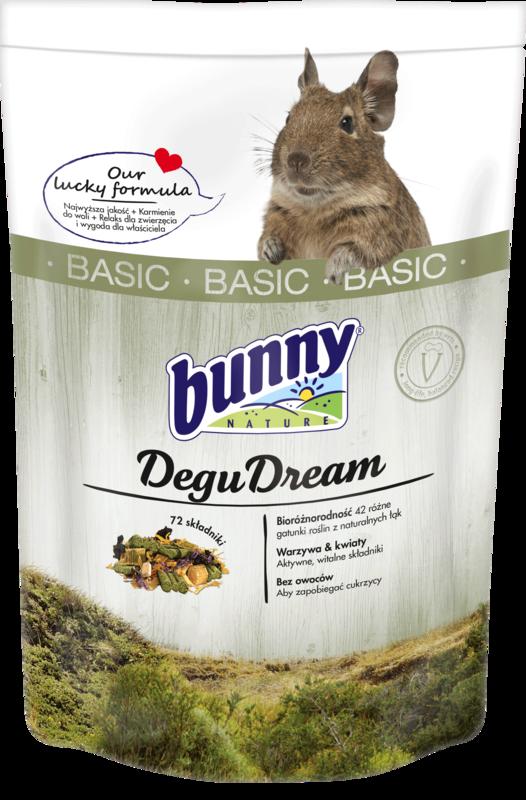BUNNY Degu Dream - karma dla koszatniczek 600g