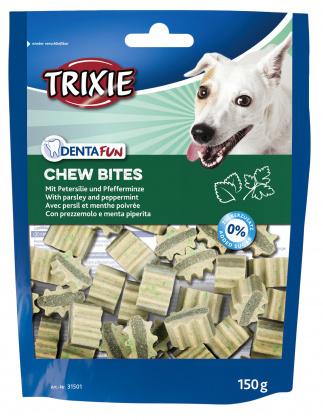 TRIXIE Denta Fun Chew Bites - przysmak dla psa 150g