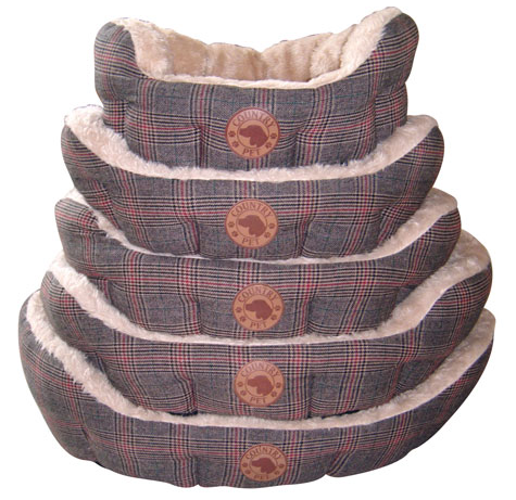 COUNTRY PET Luxury Tweed Bed - Legowisko dla psa