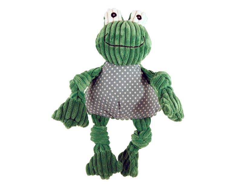 HUGGLE HOUNDS – pluszowa zabawka z piszczałkami dla psa, żaba