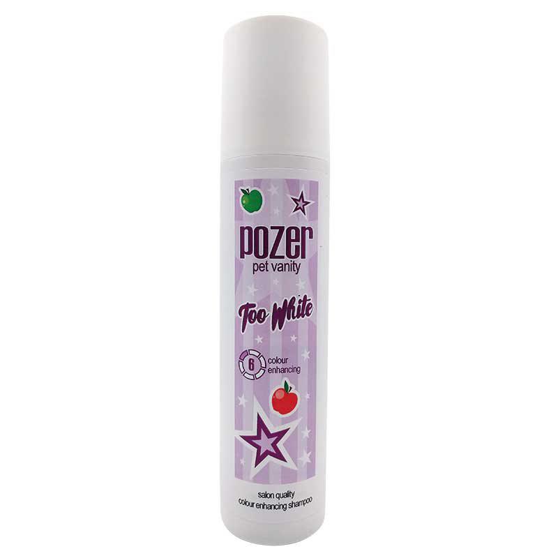 Pozer Too White Shampoo - szampon rozjaśniający naturalny kolor szaty