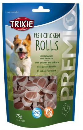 TRIXIE Przysmak Premio Fish Chicken Rolls 75g