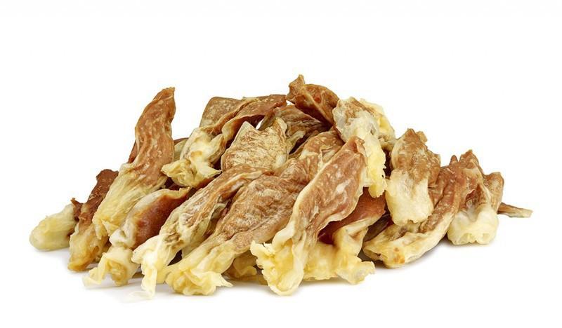 SMACZAKI Uszy Królicze z Kaczką - smakołyk dla psa, 500g