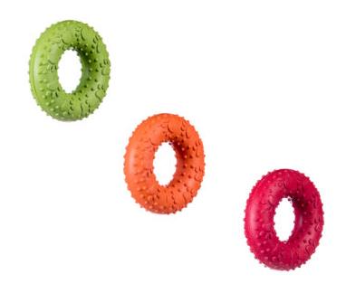 BARRY KING Ring - zabawka z wytrzymałego kauczuku 9 cm