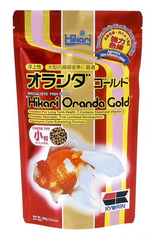 HIKARI Oranda Gold Mini - pokarm dla welonek, 100g