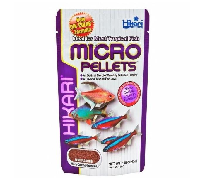 HIKARI Micro Pellets - Pokarm dla małych ryb tropikalnych