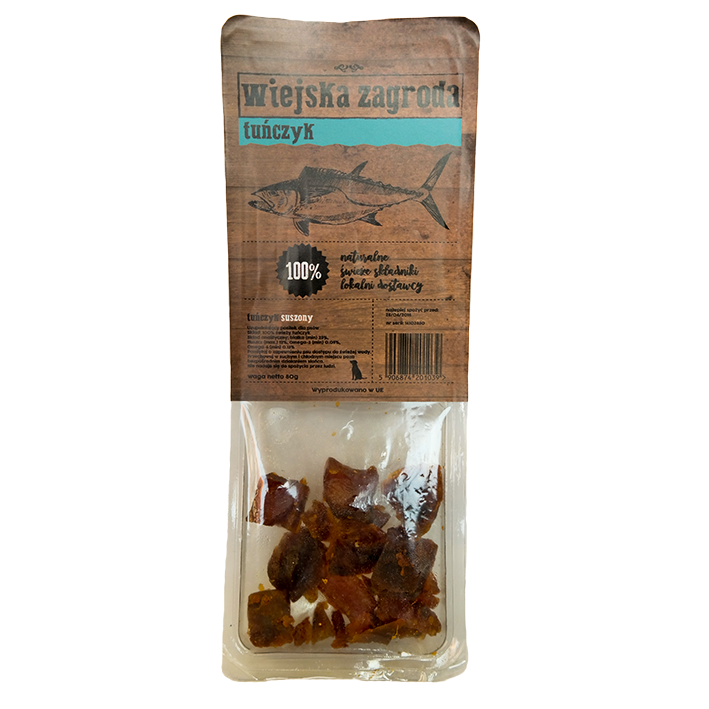 ALPHA Spirit Wiejska Zagroda Tuńczyk naturalny smakołyk dla psa 80g