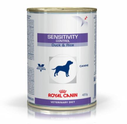 ROYAL CANIN Sensitivity Control - weterynaryjna mokra karma dietetyczna dla psów z kaczką 410g