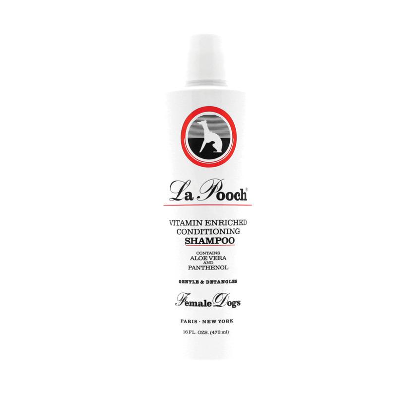 Les Poochs La Vitamin Enriched Shampoo - szampon witaminowy, zapach dla suczek, koncentrat 1:14