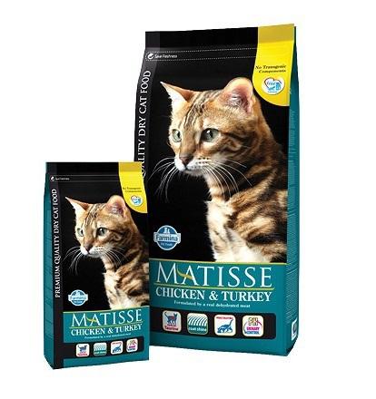 FARMINA Matisse CHICKEN&TURKEY karma dla kota 400g, 1,5KG, 20kg