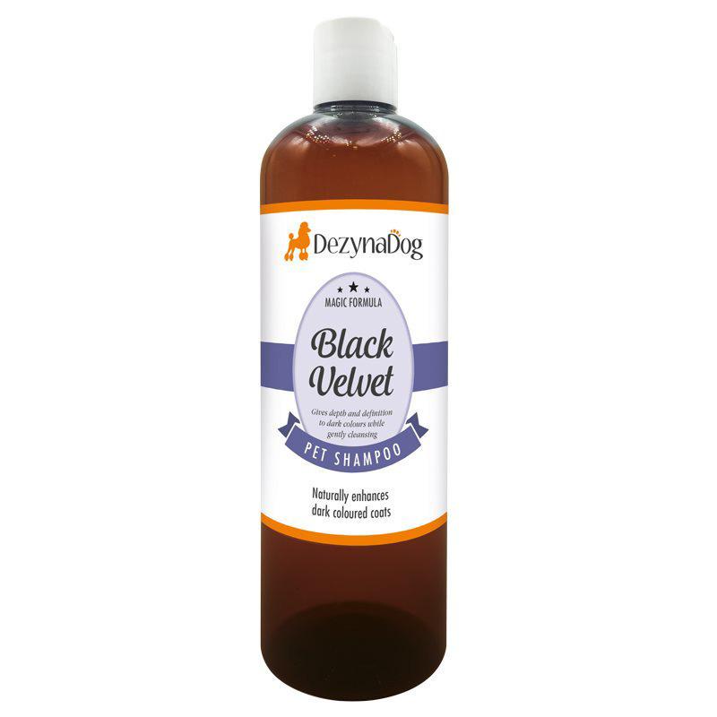 DeZynaDog Magic Formula Black Velvet Shampoo - szampon intensyfikujący czarny i ciemny kolor sierści