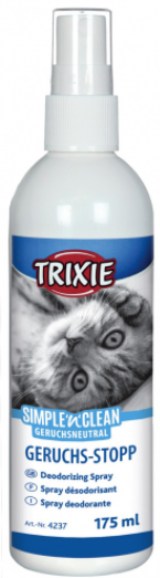 TRIXIE Simple'n'Clean Spray neutralizujący koci zapach 175 ml