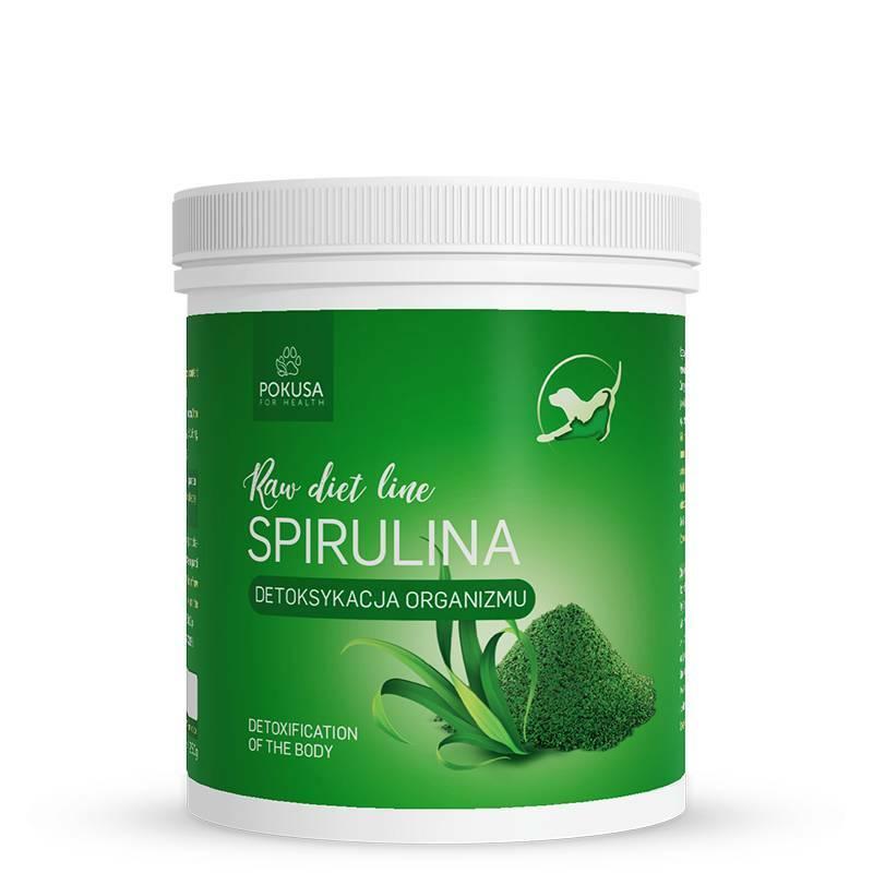 POKUSA RawDietLine Spirulina - Suplement diety