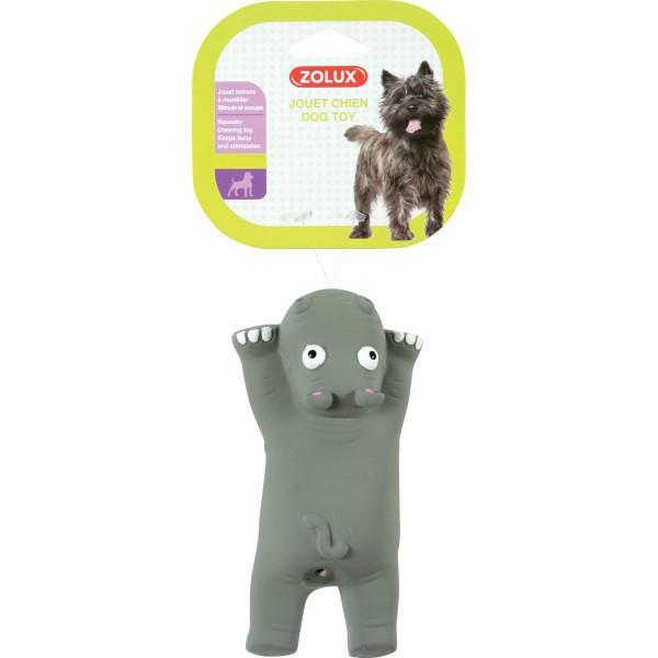 ZOLUX Hipopotam - lateksowa zabawka dla psa, 16cm