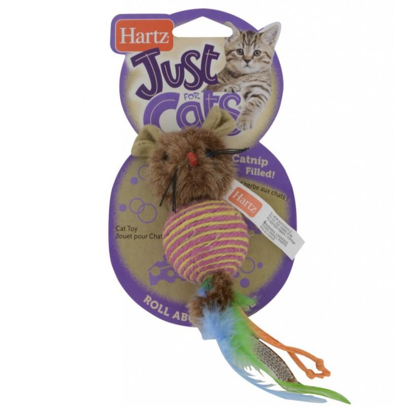 HARTZ ROLLABOUTMOUSE myszka zabawka z kocimiętką dla kota