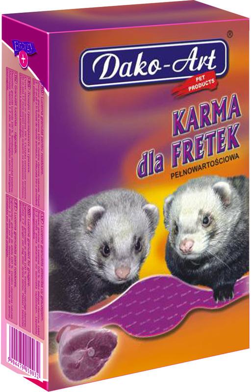 DAKO-ART pokarm dla Fretek 360g