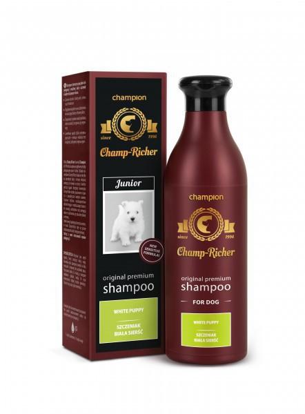 CHAMPION Champ-Richer szampon dla szczeniąt, biała sierść 250ml