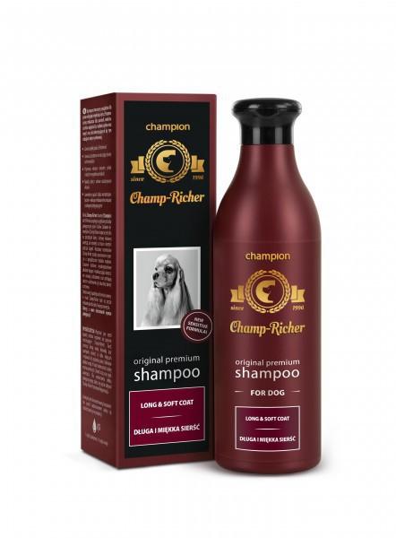 CHAMPION Champ-Richer szampon dla psa o długiej i miękkiej sierści 250ml