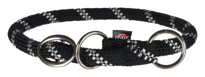 TRIXIE Obroża zaciskowa Sport Rope dla psa, czarna