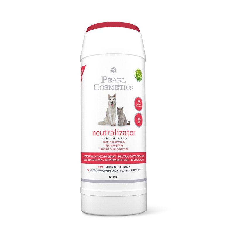Pearl Cosmetics - profesjonalny dezynfekant, pochłaniacz i neutralizator zapachów, 500 g