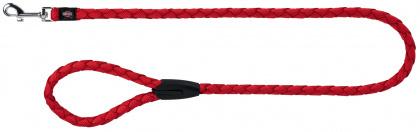 TRIXIE Cavo smycz okrągła z nylonu dla psa w kolorze czerwonym