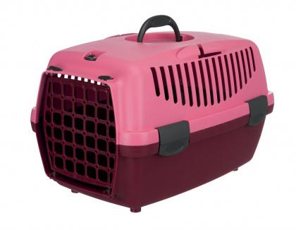 TRIXIE Transporter Capri 1 dla zwierząt ważących do 6 kg, jagodowy