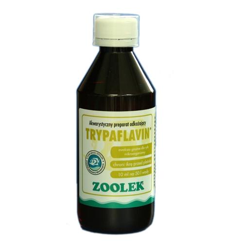 ZOOLEK Trypaflavin - Preparat na bakterie i pasożyty, 30ml