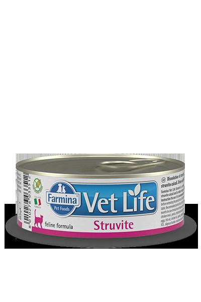 FARMINA Vet Life Struvite Feline mokra karma dla kota 85g