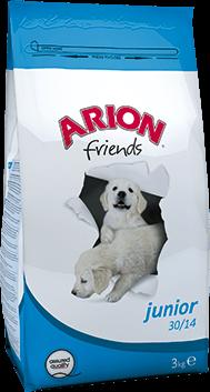 ARION Friends Junior 30/14 - Sucha karma dla szczeniąt, 15 kg
