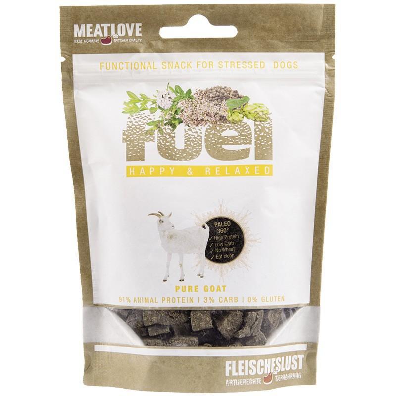 MEATLOVE Fuel Happy Relaxed Minis 80g przysmak z kozy dla psa