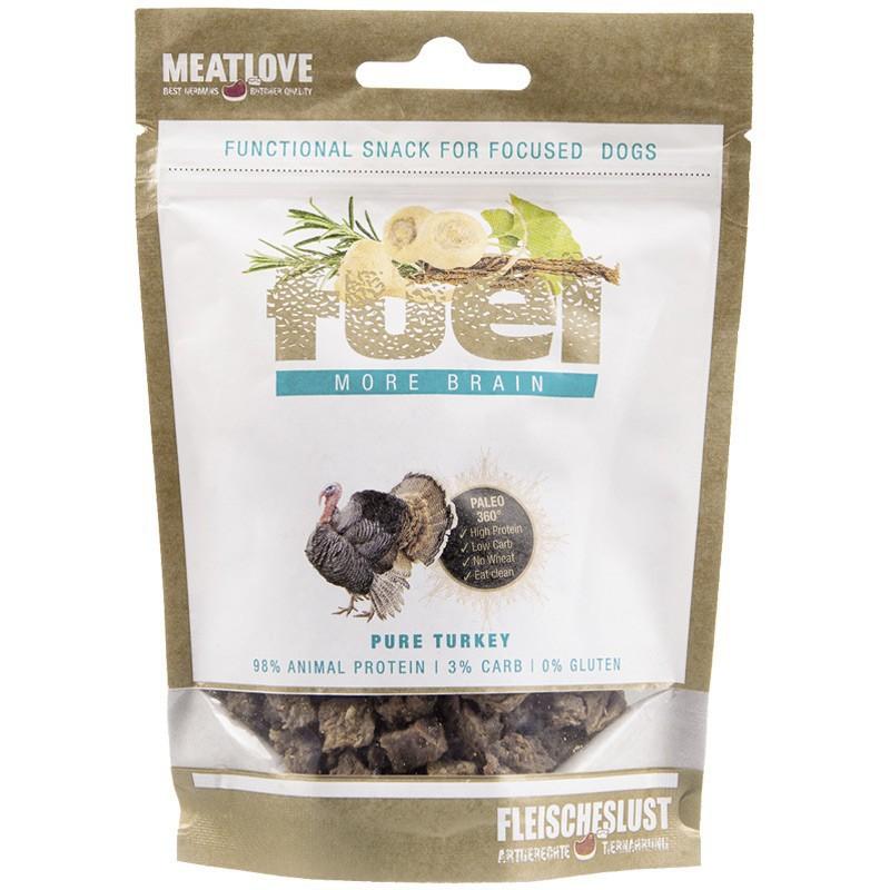MEATLOVE Fuel More Brain Minis 80g przysmak z indyka dla psa