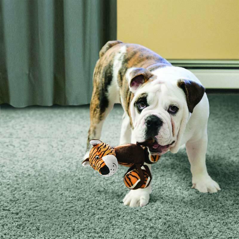KONG TenniShoes Żyrafa pluszowa zabawka dla psa rozmiar L