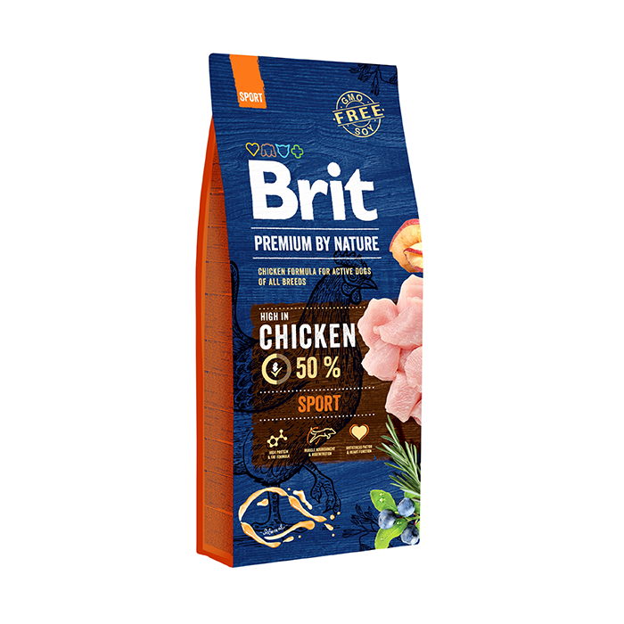 BRIT Premium By Nature Sport karma dla psa 3kg i 15kg
