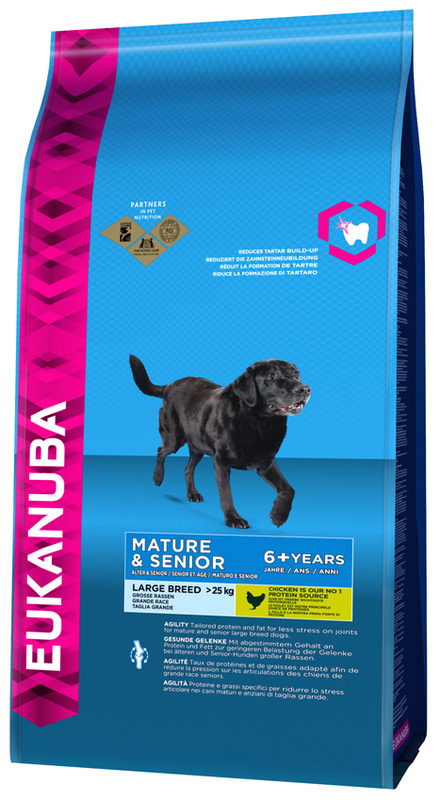 Eukanuba mature/senior large breed maintenance 15kg - plecak gratis!!!