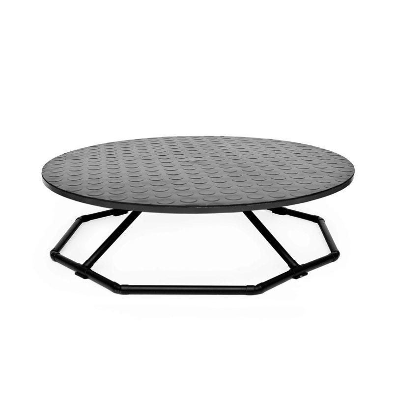 Amadoog - obrotowy stół trymerski, średnica 65 cm, czarny