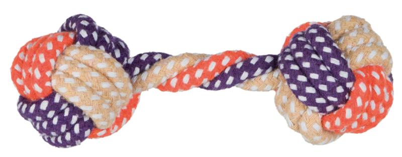 TRIXIE Hantelek sznurkowy dla psa 15 cm