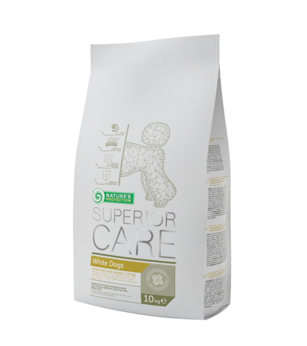 NATURE'S Protection White Adult Small sucha karma dla psów 400g i 1,5kg