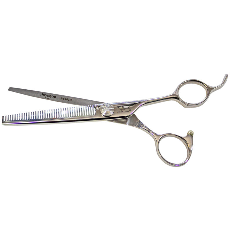"""SHERNBAO - nożyczki półdegażowe Diamond 6.5"""", 40 ząbków"""