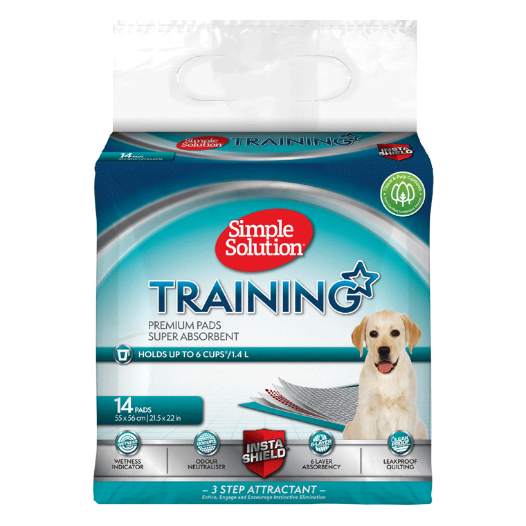 SIMPLE SOLUTION Puppy Training Maty 14szt, 35szt, 56szt i 100szt