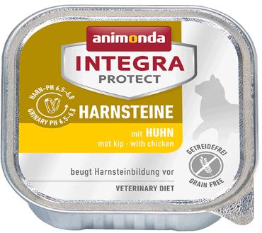 ANIMONDA Integra Protect Harnsteine, Kurczak - karma dla kotów z kamieniami dróg moczowych, 100g