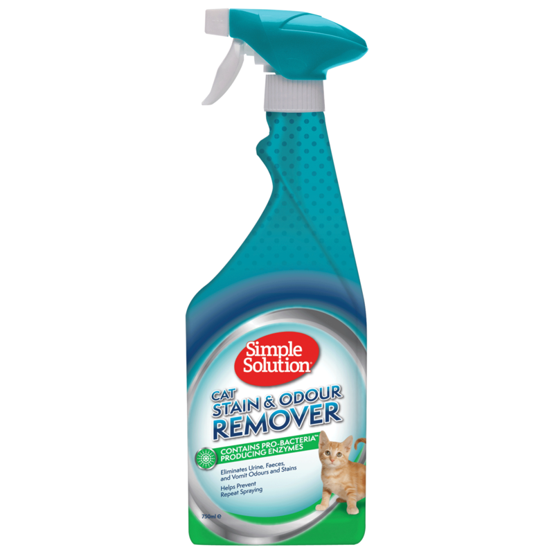 SIMPLE SOLUTION Stain&Odor Remover KOT, 750ml i 1000ml
