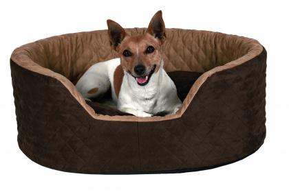 TRIXIE Przytulne legowisko Benito dla psa, brązowe